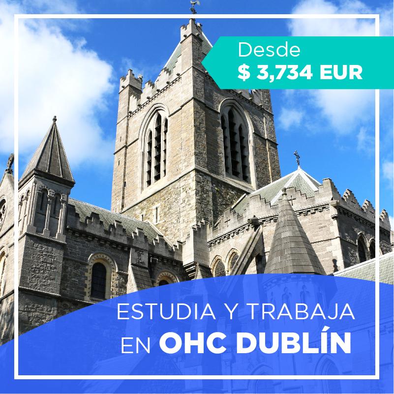 Estudia y trabaja en Dublin OHC