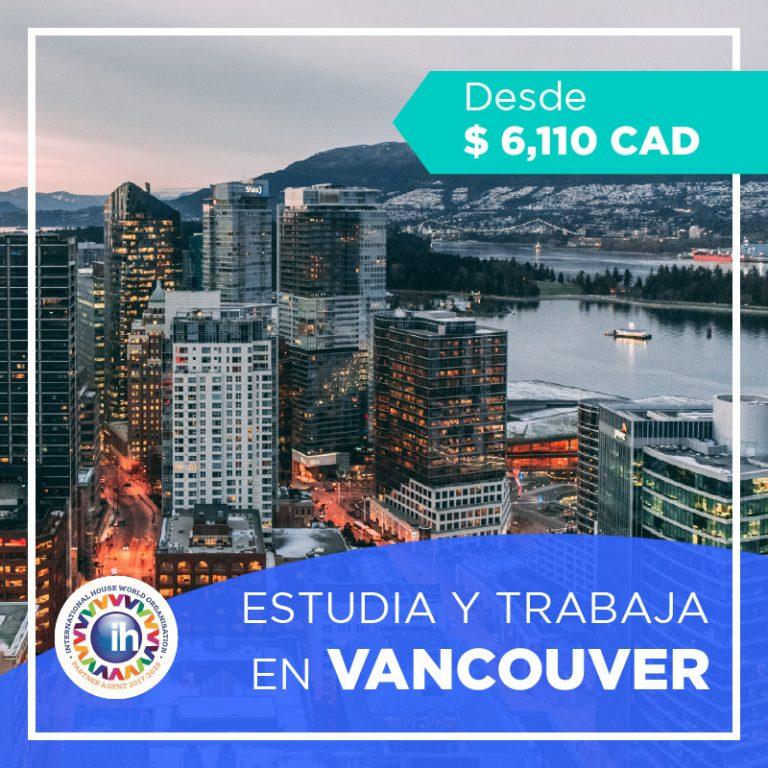 Programa de estudio y trabajo en Vancouver